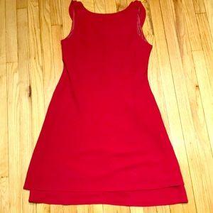 Elegant Evening Cocktail red Dress Evan Picone 16